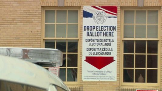 Stepped up security at Mass. ballot drop locations after fire set to Boston box
