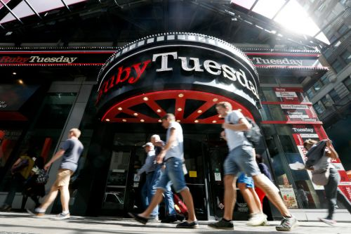Ruby Tuesday, hit by COVID closures, files for bankruptcy