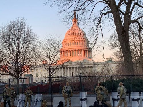 I went inside the US Capitol's immense security bubble to cover the most surreal presidential inauguration of my lifetime. Here's what I saw