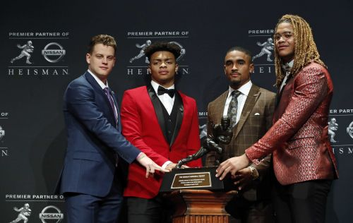 LSU quarterback Joe Burrow wins Heisman Trophy