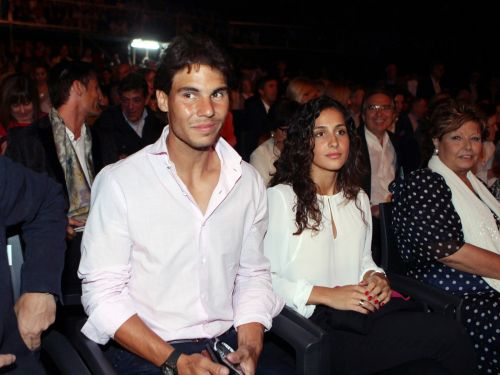Rafael Nadal married his long-time girlfriend in a lavish wedding at a Spanish fortress with 350 guests