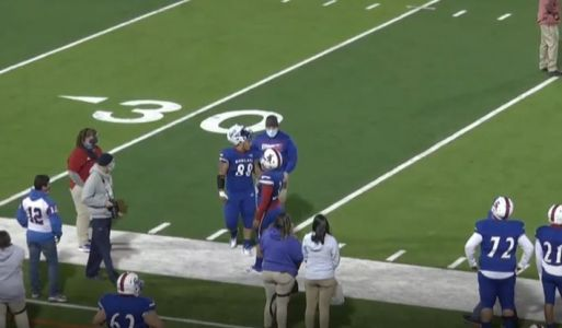 Texas high school football player tackles referee after game ejection