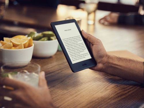 Amazon's new entry-level Kindle has a front light so you can read in the dark - it's up for preorder now for $89.99