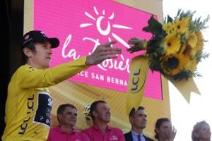 Rowdy Tour fans tarnish win for Thomas atop Alpe d'Huez