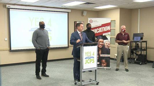 Members of the Louisville athletic community endorse tax hike for JCPS funding