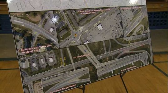 Community hears traffic and safety improvement plans for Westport Road, but funding still lacking