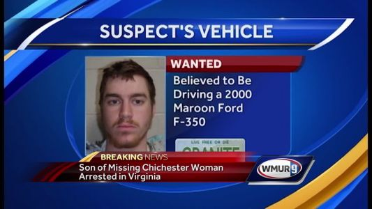 Son of missing Chichester woman arrested in Virginia