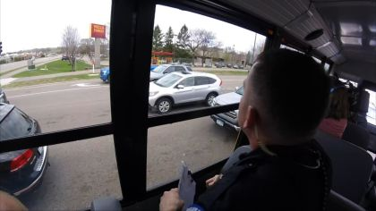 Eagan Police Pull Over Dozens Of Texting Drivers In 'Operation Busted By A Bus'