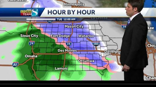 Chances for rain, snow mix heading into this week
