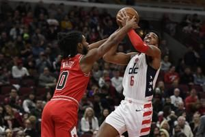 White has 33 again, Bulls beat Wizards despite Beal's 53