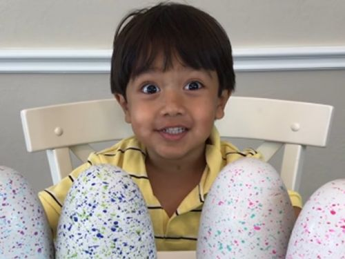 A 7-year-old YouTuber who makes $22 million a year reviewing toys is getting a TV show