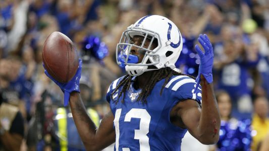 T.Y. Hilton injury update: Colts receiver suffers quad injury vs. Falcons