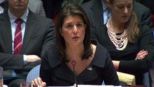 Nikki Haley Says U.S. Middle East Peace Plan Will Take 'Advantage' Of Technology