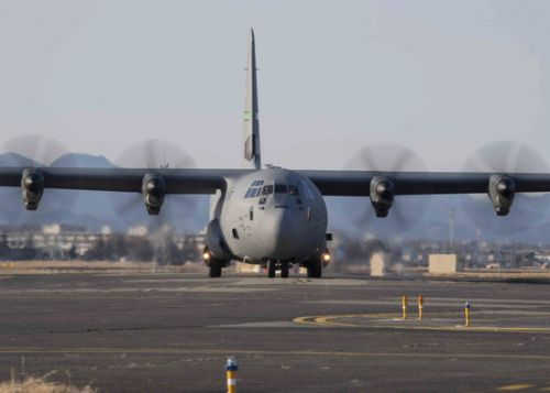 Little Rock AFB squadrons cross the Pacific, train with Yokota AB Airmen