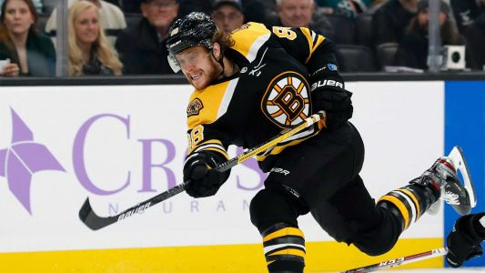 Bruins winger David Pastrnak named First Team NHL All-Star