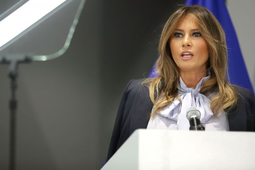 Melania warns about risks of social media hours after Trump tweet tantrum