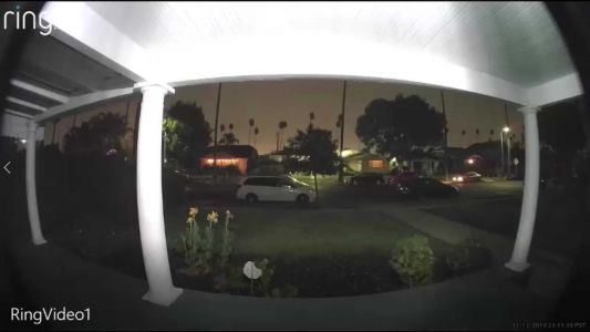 Doorbell camera captures woman in passing vehicle screaming for help