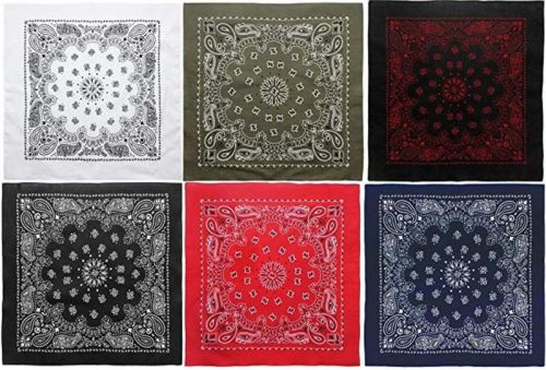 Bandanas are one of the most useful accessories. These are my favorites