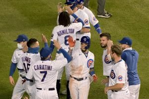 Cubs win in walk-off fashion again vs. skidding Indians
