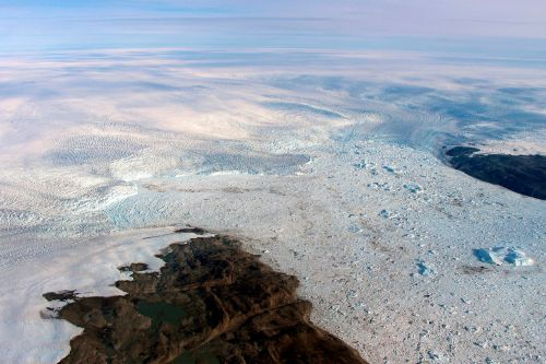Melting Greenland glacier appears to be growing again