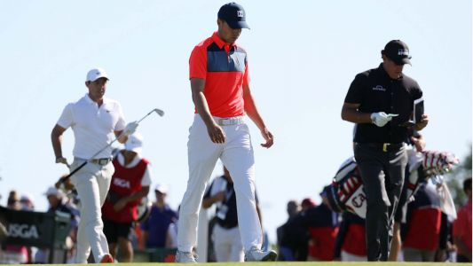 U.S. Open 2018: Rory McIlroy, Phil Mickelson, Jordan Spieth feature group limping around Shinnecock Hills