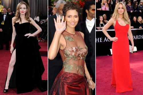 The sexiest Oscars dresses of all time