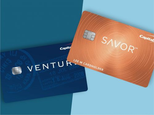 Capital One Venture vs. Savor - using both credit cards together is ideal, but here's how to choose if you just want one