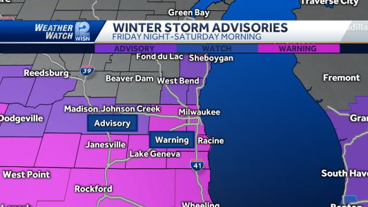 Videocast: Winter Storm Warnings this weekend