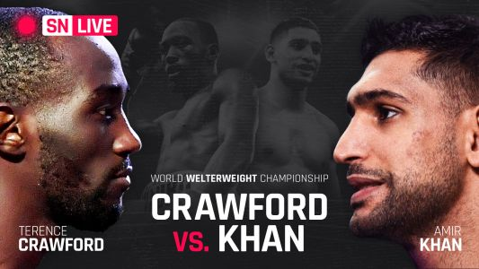 Terence Crawford vs. Amir Khan: Live results, round-by-round updates, highlights from full card
