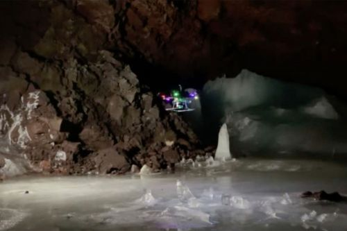 Alien-hunting scientists are developing 'space drones' to explore caves on Mars