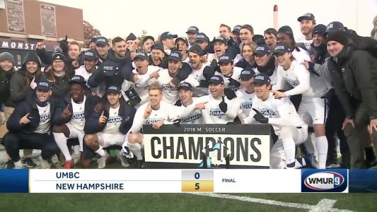 UNH Soccer wins first conference title