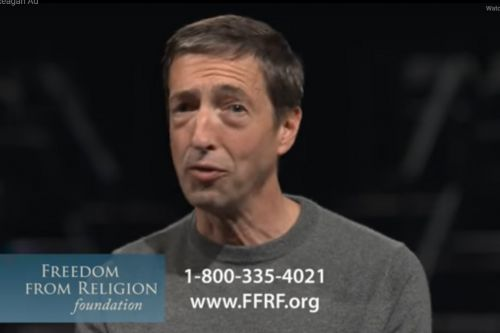 'Ron Reagan' trends after atheist group runs ad during Democratic primary debate
