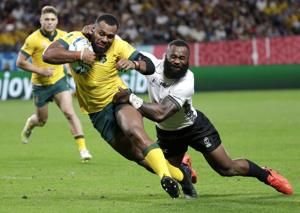 The Latest: Italy leads 21-7 after conceding early try