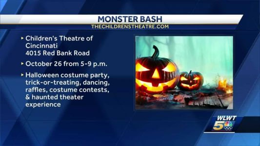 Just in time for Halloween, the Monster Bash is happening at the Children's Theatre of Cincinnati
