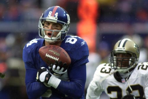 Former Giants wide receiver robbed at gunpoint