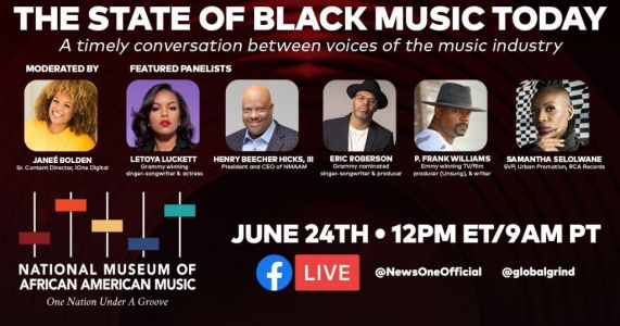Did You Catch It? iOne Digital and NMAAM Talk 'The State of Black Music Today' in Town Hall