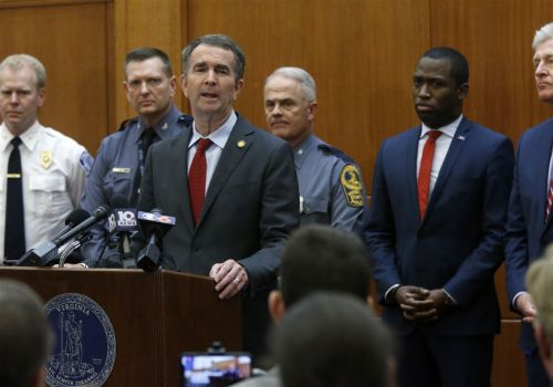 Va. court upholds governor's stopgap Capitol weapons ban