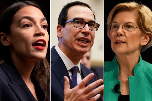 Ocasio-Cortez, Warren grill Mnuchin for role in Sears bankruptcy