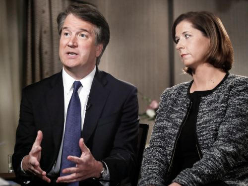 Kavanaugh tells Fox he won't give up Supreme Court nomination over 'false' sex assault accusations
