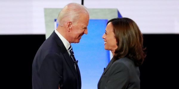 Biden tapping Kamala Harris to be his VP means the Democratic ticket does not have an Ivy League grad for the first time since 1984