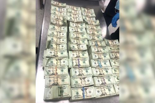 Nearly $500K discovered hidden inside chair at Miami airport