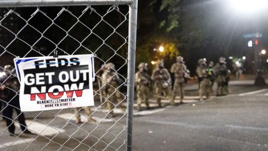 'They Just Started Whaling': Violence, Tension As U.S. Agents Clamp Down In Portland