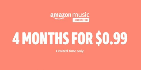Amazon's Music Unlimited streaming service is now only $1 for 4 months as an early Prime Day deal