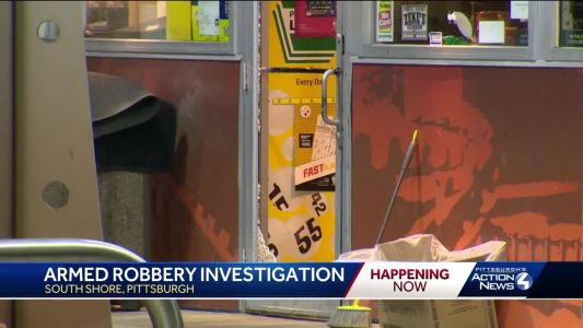 Police investigate apparent gas station robbery near Station Square