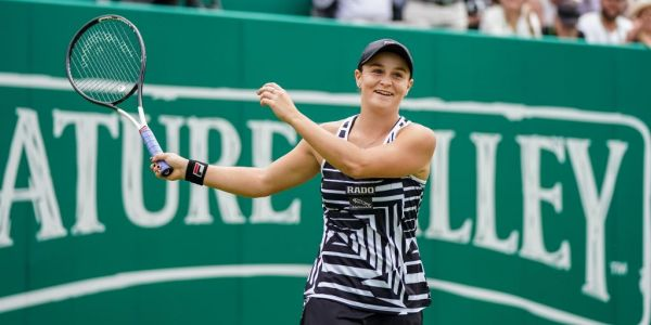 Australian tennis player Ashleigh Barty is now the world's number one female player