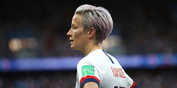 Megan Rapinoe is out of the USA's starting lineup for the Women's World Cup semifinal and nobody knows why