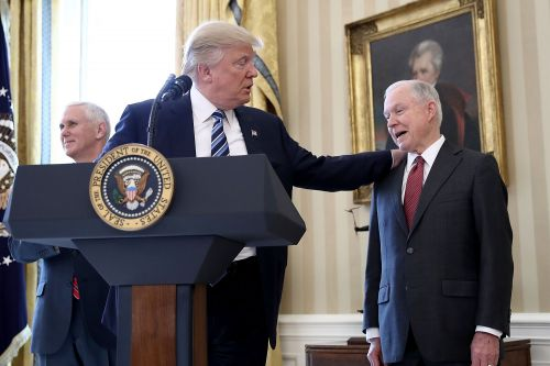 Trump says biggest regret was appointing Jeff Sessions