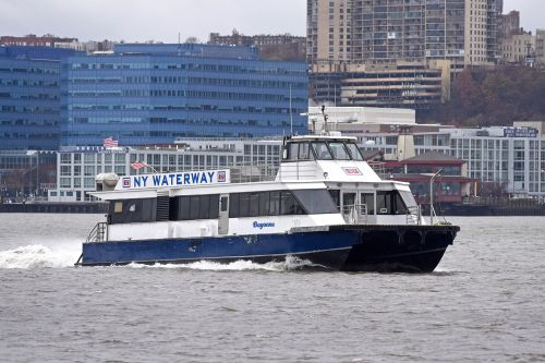 New York Waterway Ferry Company Accused of Dumping Sewage into Hudson