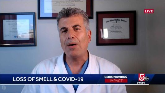 Dr. Ellerin comments on research about loss of smell, COVID-19