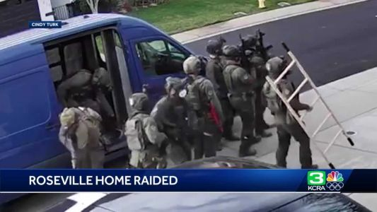 Neighbor describes moments federal agents raided Roseville home
